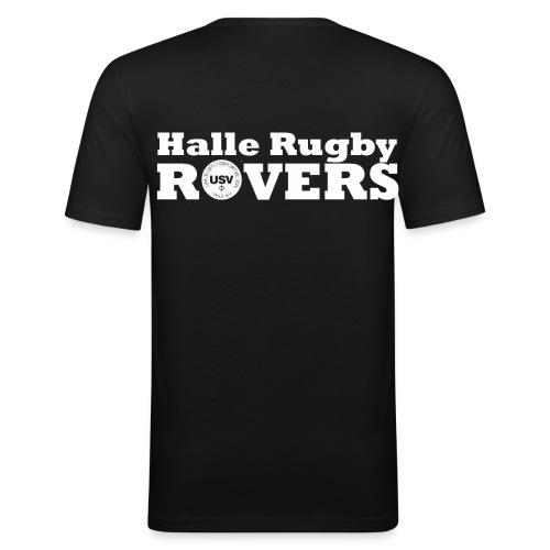 Rovers T-Shirt Slim Männer - Männer Slim Fit T-Shirt