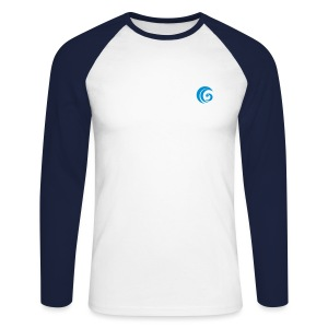GowerLive Mens Baseball Tshirts  - Men's Long Sleeve Baseball T-Shirt