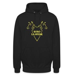 Logo pour le Rappeur Soso La Hyène - Sweat-shirt à capuche unisexe