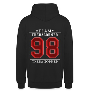 TBC Pullover - Red Flare - Rus - Nummer 98 - Unisex Hoodie