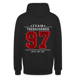 TBC Pullover - Red Flare - Arab - Nummer 97 - Unisex Hoodie