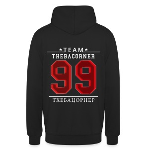 TBC Pullover - Red Flare - Rus - Nummer 99 - Unisex Hoodie