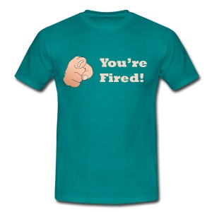The Apprentice UK - You're Fired! T-Shirt - Men's T-Shirt