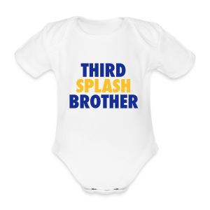 Third Splash Brother Strampler - Baby Bio-Kurzarm-Body