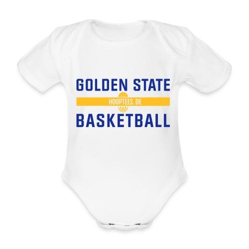 Golden State Basketball Strampler - Baby Bio-Kurzarm-Body