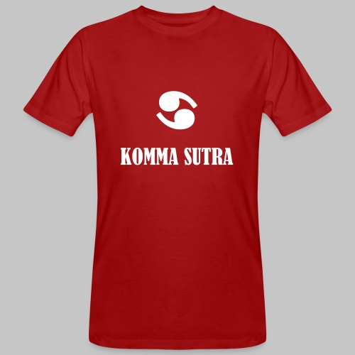Komma Sutra - Männer Bio-T-Shirt