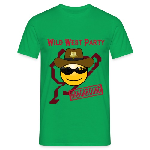 Motto Shirt 2016 (wild west party) - Männer T-Shirt