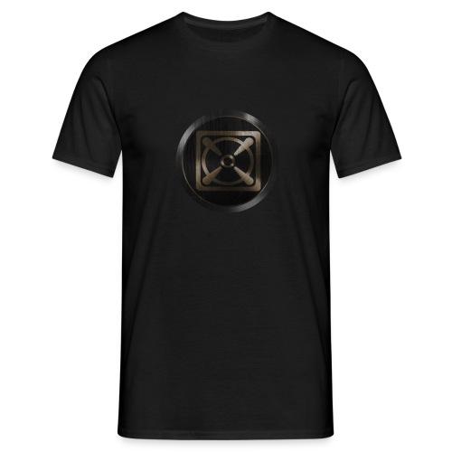 XRX_CyReX Gold logo - Männer T-Shirt