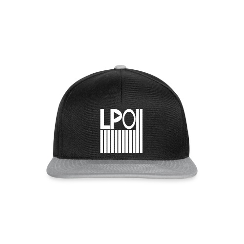 LPO - Stripes - Snapback Cap - Schwarz - Snapback Cap