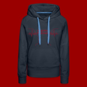 K-Pulli Kognitive Resonanz (Women) - Frauen Premium Hoodie