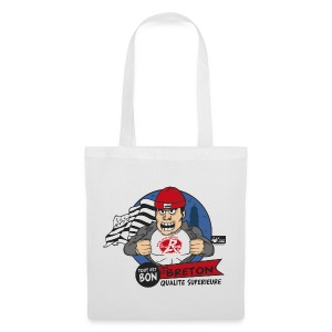 Sac Label Bonnet rouge - Tote Bag