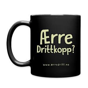 Ærre DrittKopp i farger - Ensfarget kopp