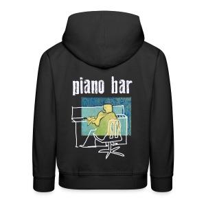 piano bar - Kinder Premium Hoodie