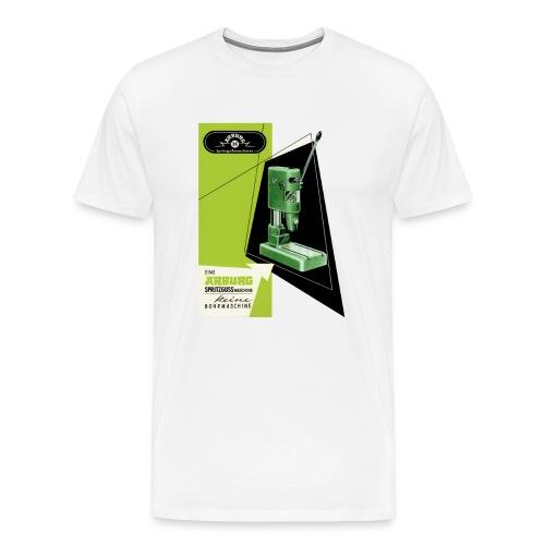 Retro white - Männer Premium T-Shirt
