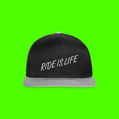 RIDE IS LIFE | Snapback - Snapback Cap