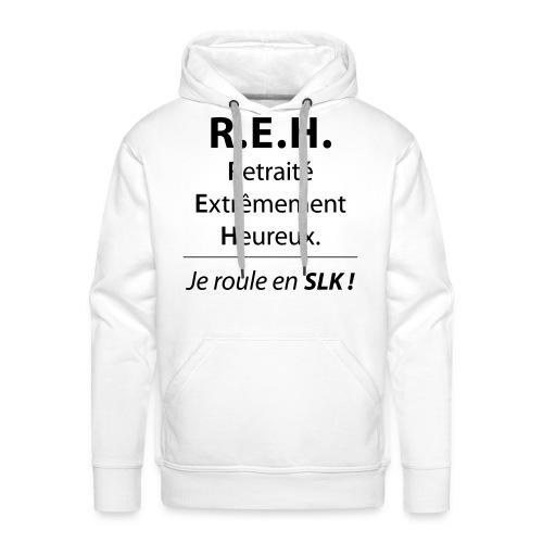Retraité Extrêmement Heureux - Sweat-shirt à capuche Premium pour hommes