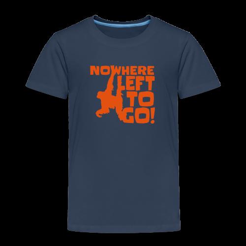 Orangutan 'Nowhere Left to Go' Kid's T-Shirt - Kids' Premium T-Shirt