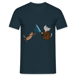 Jedi Cat Training - Men's - Men's T-Shirt