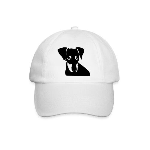Baseballkappe - Pinscher Kopf Motiv 1 Farbig