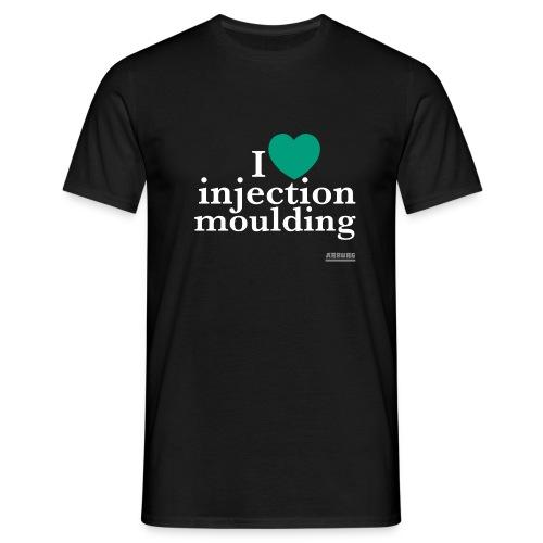 I love green - Männer T-Shirt