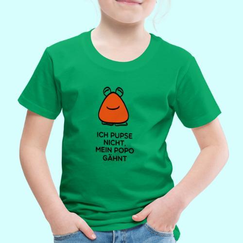 Mein Popo gähnt - Kinder Premium T-Shirt