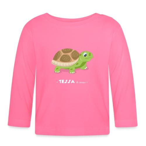T-Shirt Bébé Tessa la Tortue - T-shirt manches longues Bébé