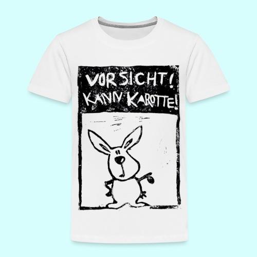 Vorsicht! Kann Karotte! - Kinder Premium T-Shirt
