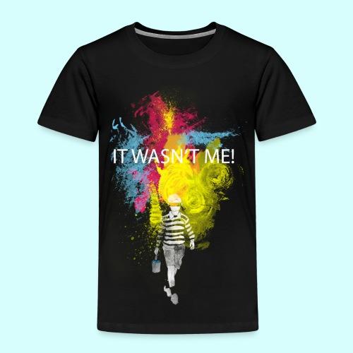 It wasn´t me - Kinder Premium T-Shirt