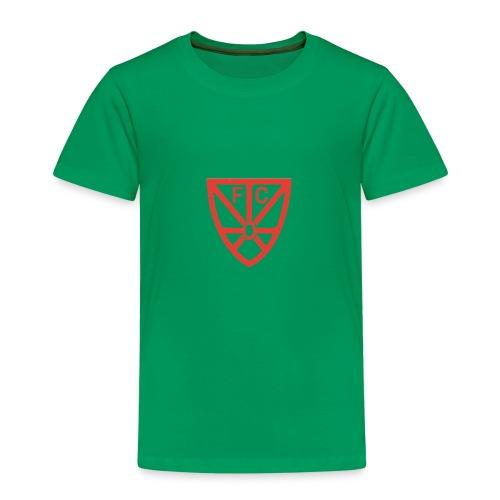Kinder Premium T-Shirt - verschiedene Farben - mit FCO Logo - Kinder Premium T-Shirt