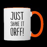 Tassen & Zubehör ~ Tasse zweifarbig ~ Just Shake It Orff! (Tasse)