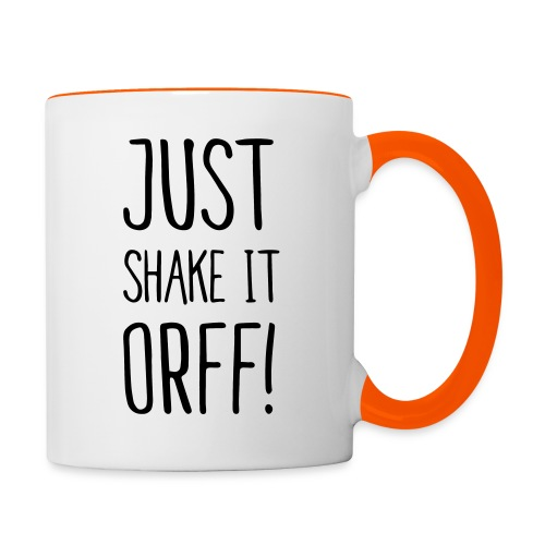 Just Shake It Orff! (Tasse) - Tasse zweifarbig