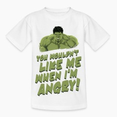 "Hulk ""Angry"" Teenager T-Shirt"