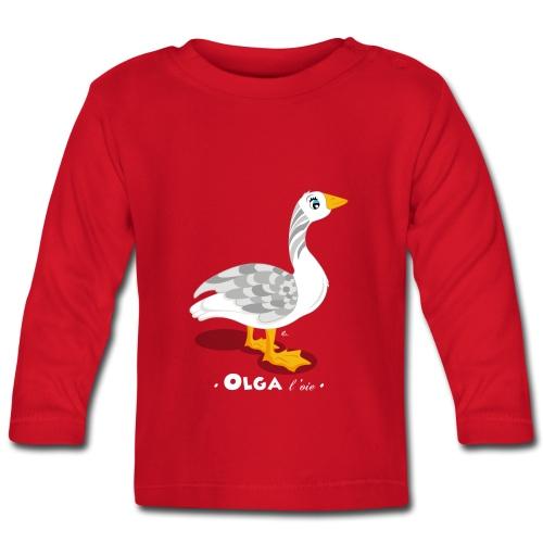 T-Shirt Bébé Olga l'oie - T-shirt manches longues Bébé