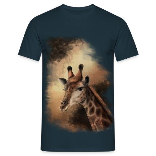 African - Giraffe - Männer T-Shirt