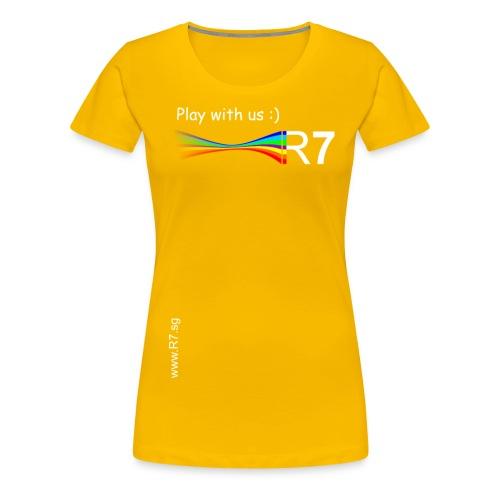 R7 Premium Shirt Frauen - Frauen Premium T-Shirt