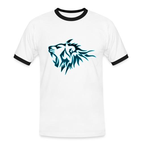 T-Shirt Homme Tigres Bleu (Blanc) - T-shirt contrasté Homme