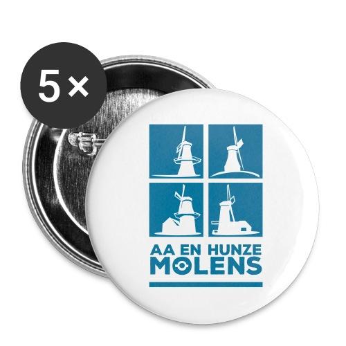 Aa en Hunze Molens button - Buttons large 2.2''/56 mm(5-pack)