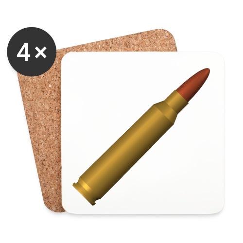 5,56 mm Patrone Tassen & Zubehör - Untersetzer (4er-Set)