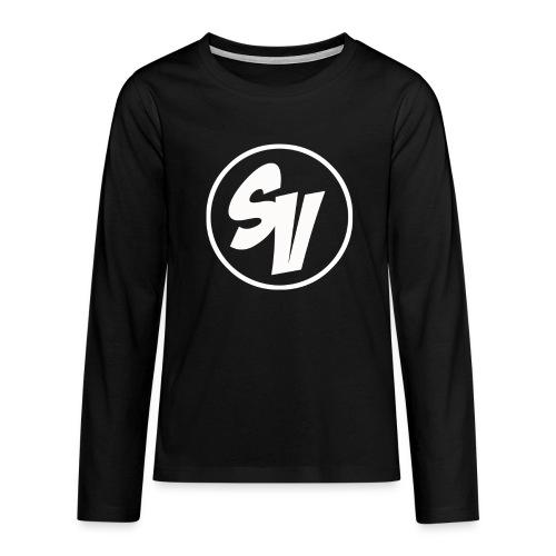 Tiener shirt lange mouwen - Teenager Premium shirt met lange mouwen