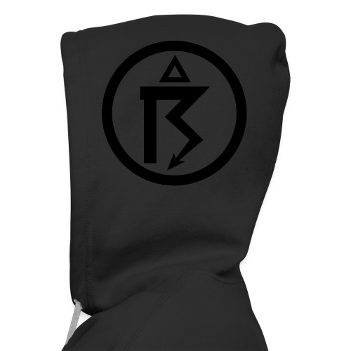 Netherbird thunder zipper-hoodie (black details) - Men's Premium Hooded Jacket
