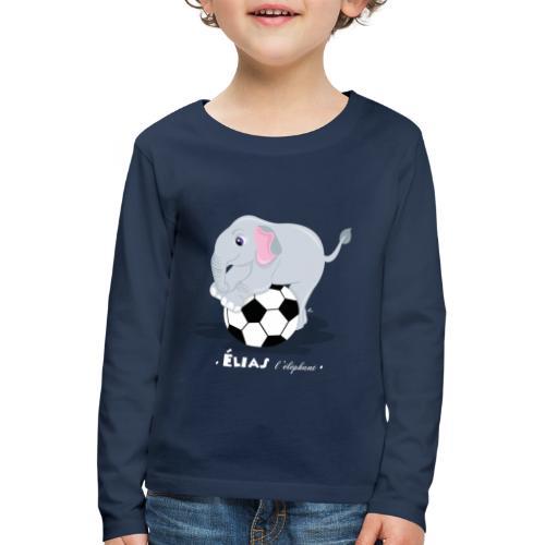 T-Shirt Enfant Élias l'éléphant - T-shirt manches longues Premium Enfant