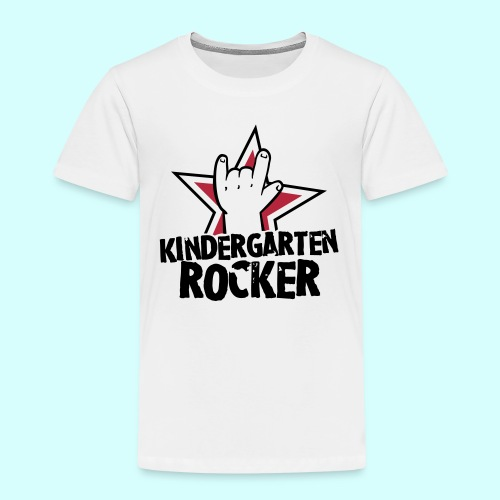 kindergarten rocker t shirt witzige kinder t shirts. Black Bedroom Furniture Sets. Home Design Ideas