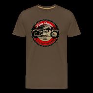 T-Shirts ~ Männer Premium T-Shirt ~ CHROMELESS // V2 CHOPPER VOL.1