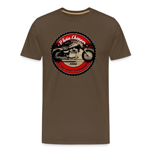 CHROMELESSAPPAREL // V2 CHOPPER VOL.1 - Männer Premium T-Shirt
