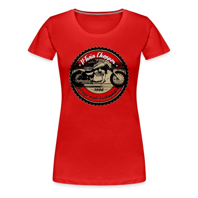 CHROMELESS // V2 CHOPPER VOL.1 - Frauen Premium T-Shirt
