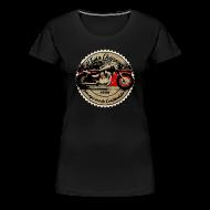 T-Shirts ~ Frauen Premium T-Shirt ~ CHROMELESS // V2 CHOPPER VOL.2