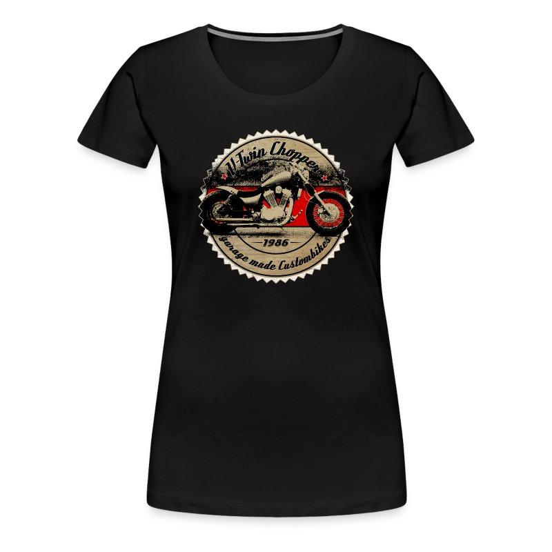 CHROMELESSAPPAREL // V2 CHOPPER VOL.2 - Frauen Premium T-Shirt