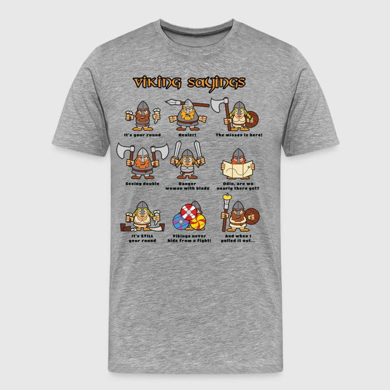 Viking Sayings - Men's Premium T-Shirt