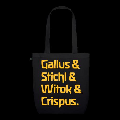 Gallus & Stichl & Witok & Crispus - Bio-Stoffbeutel