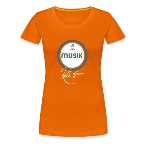 Frauen: Musik Team - Frauen Premium T-Shirt